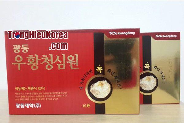 An Cung Ngưu Hoàng Hoàn hộp đỏ - KwangDong Hàn Quốc