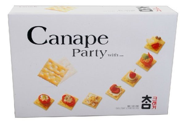 Bánh Canape party with 280g