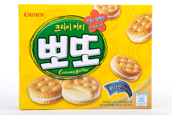 Bánh quy phomai Creamy Butter 161g