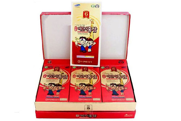 Hồng sâm Baby Gold Kids Red Ginseng Tonic for kids