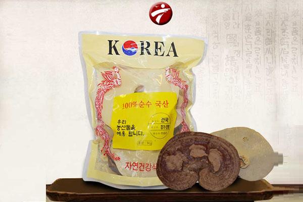 Nấm linh chi tai vàng túi 1kg