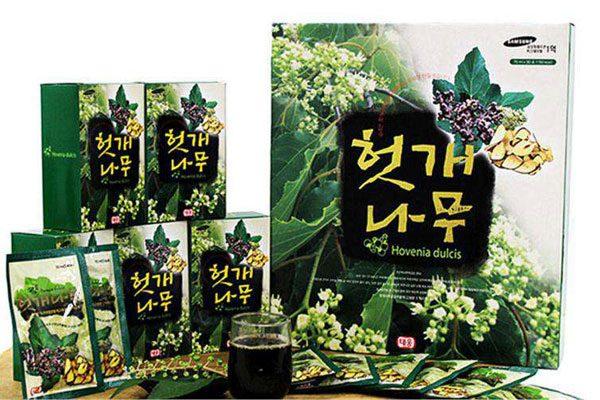 Nước uống giải rượu Taewoong - Hộp 30 gói
