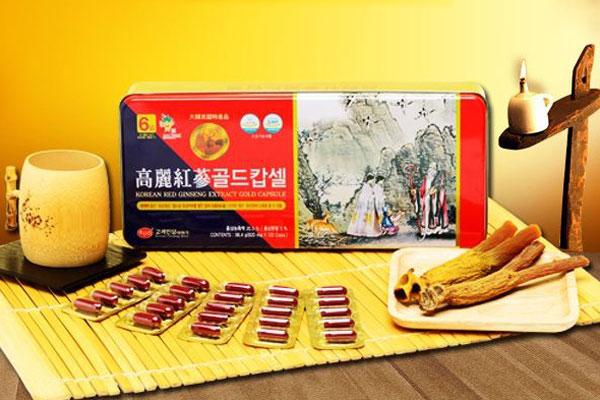 Sâm nhung linh chi Hàn Quốc KGS 830mg x 120viên