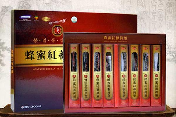 Sâm tẩm mật ong KGS Hàn Quốc hộp 240g