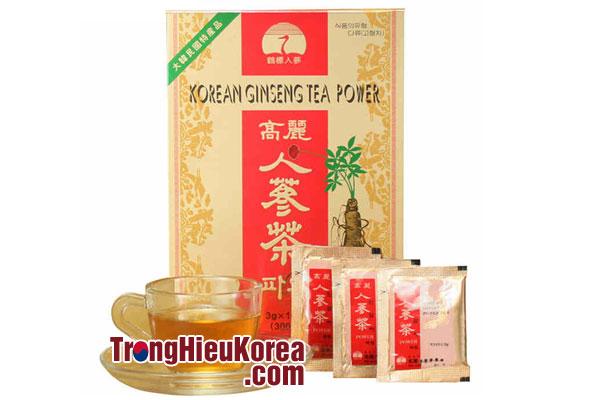 Trà sâm Hàn Quốc - 3gr x 100 gói