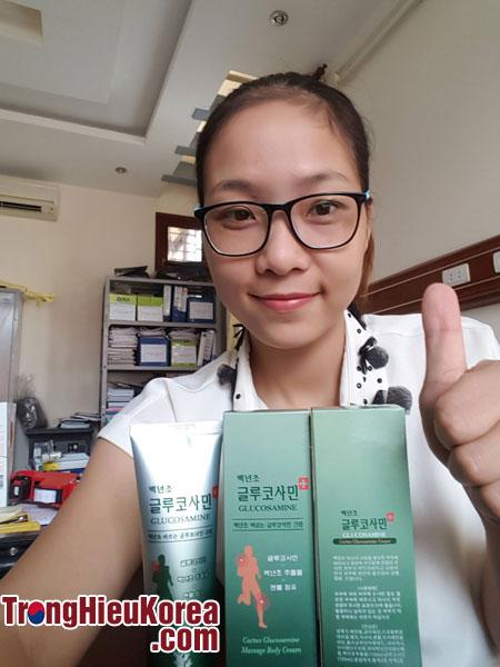 Dầu lạnh Glucosamine tại Trọng Hiếu Korea