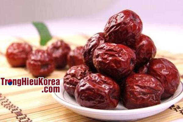Quả táo đỏ khô từ Hàn Quốc