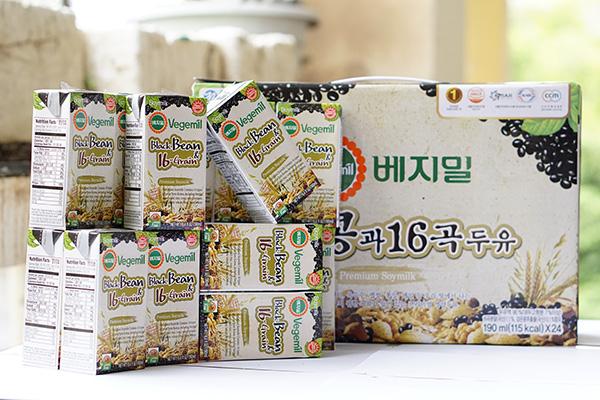 Sữa đậu nành ngũ cốc 16 vị Vegemil