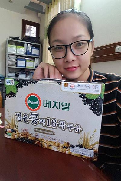 Sữa đậu nành ngũ cốc 16 vị Vegemil Hàn Quốc