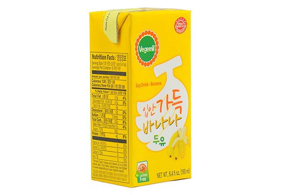 Sữa đậu nành vị chuối Vegemil Hàn Quốc - 190ml