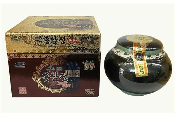 Cao hắc sâm hũ KangHwa Hàn Quốc - Hộp 1000g