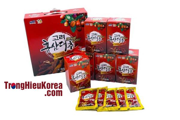 Tinh chất hồng sâm táo đỏ Kanghwa Royal Gold 30 gói x 80ml